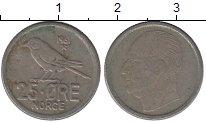 Изображение Дешевые монеты Норвегия 25 эре 1961 Медно-никель Fine
