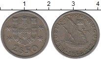 Изображение Дешевые монеты Португалия 2 1/2 эскудо 1965 Медно-никель VG