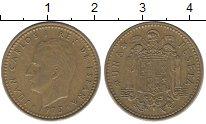 Изображение Дешевые монеты Испания 1 песета 1975 Медно-никель VF+