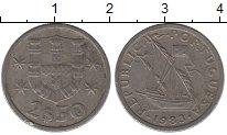 Изображение Дешевые монеты Португалия 2 1/2 эскудо 1983 Медно-никель VF+