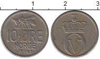 Изображение Дешевые монеты Норвегия 10 эре 1965 Медно-никель XF