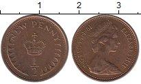 Изображение Барахолка Великобритания 1/2 пенни 1981 Медь XF