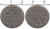 Изображение Дешевые монеты Швеция 50 эре 1973 Медно-никель XF