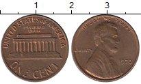 Изображение Дешевые монеты США 1 цент 1970 Медь XF-