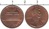Изображение Дешевые монеты США 1 цент 1996 Медь XF