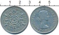 Изображение Барахолка Великобритания 2 шиллинга 1965 Медно-никель XF