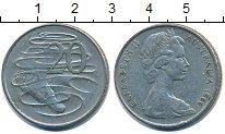 Изображение Дешевые монеты Австралия 20 центов 1966 Медно-никель XF