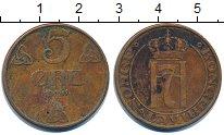 Изображение Дешевые монеты Норвегия 5 эре 1941 Медь VF-