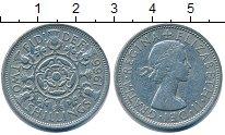 Изображение Барахолка Великобритания 2 шиллинга 1966 Медно-никель XF