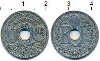 Изображение Барахолка Франция 10 сантим 1930 Медно-никель VF
