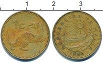 Изображение Дешевые монеты Мальта 1 цент 1986 Латунь VF