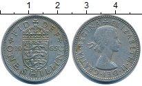 Изображение Барахолка Великобритания 1 шиллинг 1965 Медно-никель XF-