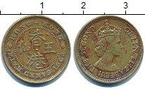 Изображение Барахолка Гонконг 5 центов 1968 Латунь XF