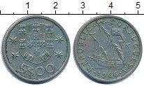 Изображение Дешевые монеты Португалия 500 эскудо 1966 Медно-никель VF