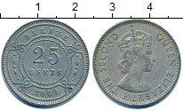 Изображение Дешевые монеты Белиз 25 центов 2003 Алюминий XF-
