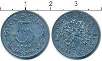 Изображение Дешевые монеты Австрия 5 грош 1976 Цинк XF