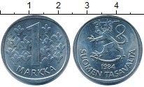Изображение Дешевые монеты Финляндия 1 марка 1984 Медно-никель XF