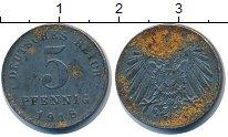 Изображение Барахолка Германия 5 пфеннигов 1918 Цинк VF-