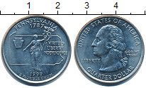 Изображение Барахолка США 25 центов 1999 Медно-никель XF