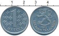 Изображение Дешевые монеты Финляндия 1 марка 1972 Медно-никель XF