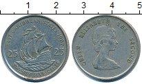 Изображение Дешевые монеты Карибы 25 центов 1987 Медно-никель XF