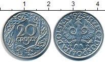 Изображение Дешевые монеты Польша 20 грош 1923 Медно-никель XF