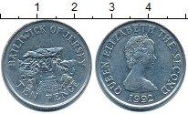 Изображение Барахолка Остров Джерси 10 пенсов 1992 Медно-никель XF