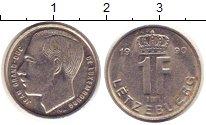 Изображение Дешевые монеты Люксембург 1 франк 1990 Медно-никель VF