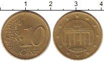 Изображение Дешевые монеты Германия 10 евроцентов 2002 Латунь XF