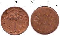 Изображение Дешевые монеты Малайзия 1 сен 1999 Бронза VF