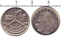 Изображение Дешевые монеты Люксембург 1 франк 1989 Медно-никель XF