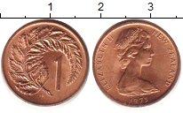 Изображение Барахолка Новая Зеландия 1 цент 1973 Медь XF