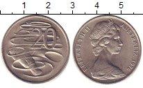 Изображение Барахолка Австралия 20 центов 1976 Медно-никель XF