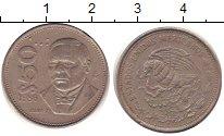 Изображение Барахолка Мексика 50 сентаво 1986 Медно-никель XF-