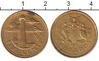 Изображение Барахолка Барбадос 5 центов 1994 Латунь XF