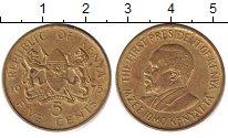 Изображение Дешевые монеты Кения 5 центов 1975 Латунь XF