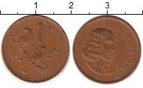 Изображение Дешевые монеты ЮАР 1 цент 1969 Медь XF