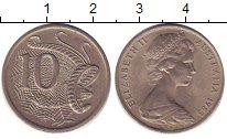 Изображение Дешевые монеты Австралия 10 центов 1963 Медно-никель XF