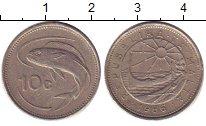 Изображение Дешевые монеты Мальта 10 центов 1986 Медно-никель XF-