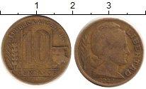Изображение Барахолка Аргентина 10 сентаво 1947 Латунь XF