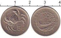 Изображение Дешевые монеты Мальта 5 центов 1986 Медно-никель XF