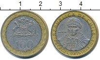 Изображение Дешевые монеты Чили 100 песо 2008 Биметалл VF+