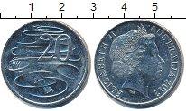 Изображение Барахолка Австралия 20 центов 2012 Медно-никель XF