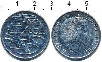 Изображение Барахолка Австралия 20 центов 2014 Медно-никель XF-