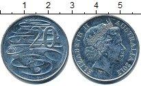 Изображение Барахолка Австралия 20 центов 2012 Медно-никель XF-