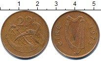 Изображение Дешевые монеты Ирландия 2 пенса 1975 Латунь XF-