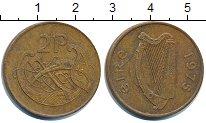 Изображение Дешевые монеты Ирландия 2 пенса 1975 Латунь VF