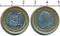 Изображение Дешевые монеты Венесуэла 1 боливар 2007 Биметалл XF