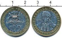 Изображение Дешевые монеты Чили 100 песо 2012 Биметалл XF