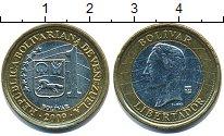 Изображение Дешевые монеты Венесуэла 1 боливар 2009 Биметалл XF